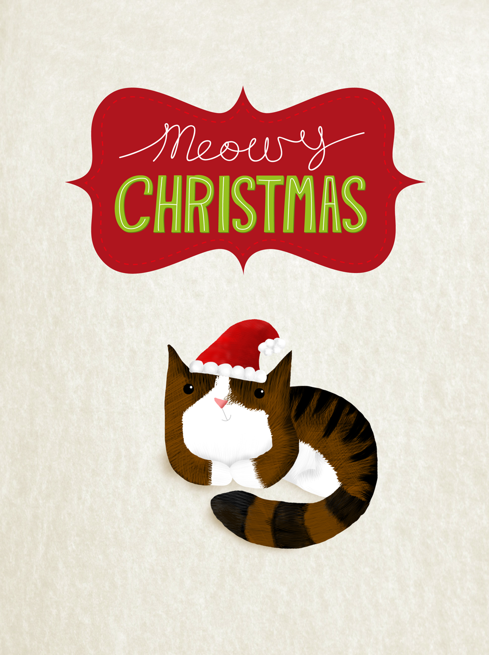 Meowy Christmas! from Simone Crowley